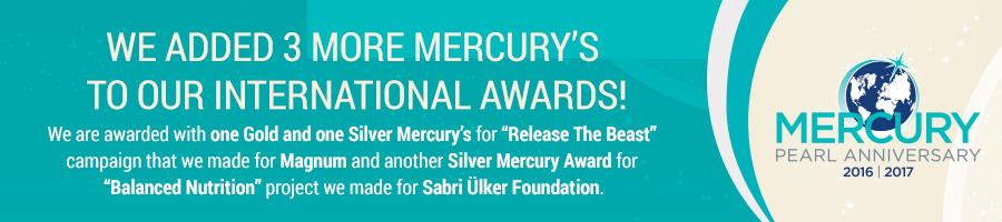 MERCURY EXCELLENCE AWARDS 2016|2017 WINNER